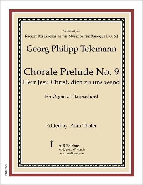 Telemann: Chorale Prelude No. 9