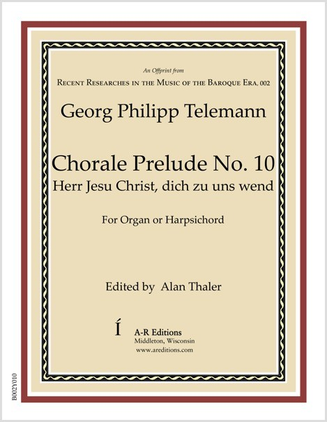 Telemann: Chorale Prelude No. 10