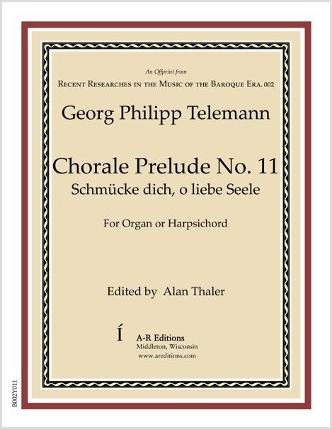 Telemann: Chorale Prelude No. 11