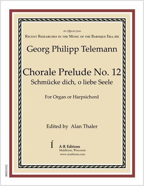Telemann: Chorale Prelude No. 12