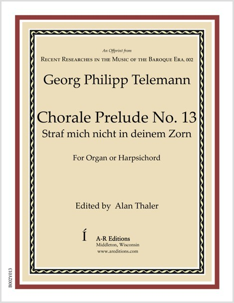 Telemann: Chorale Prelude No. 13