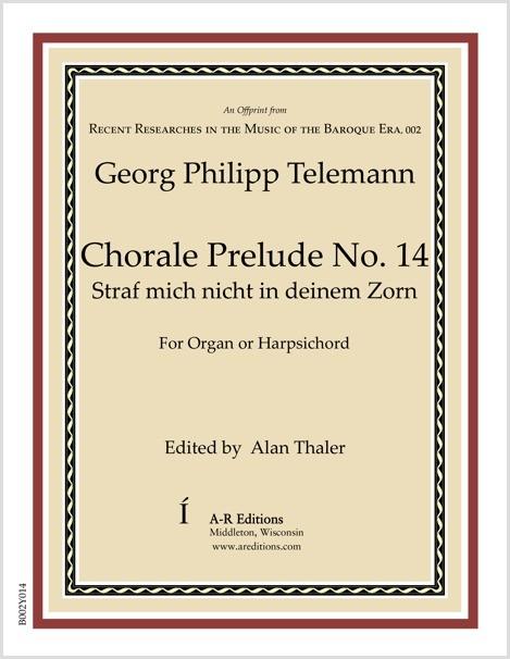 Telemann: Chorale Prelude No. 14