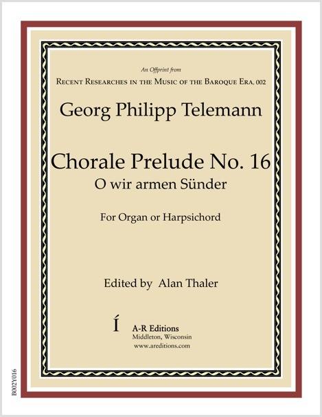 Telemann: Chorale Prelude No. 16