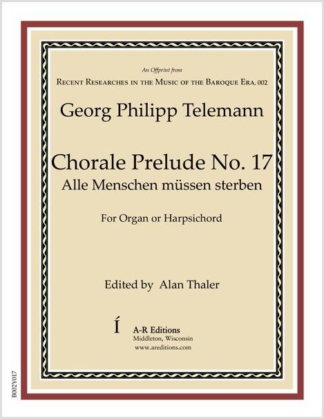 Telemann: Chorale Prelude No. 17