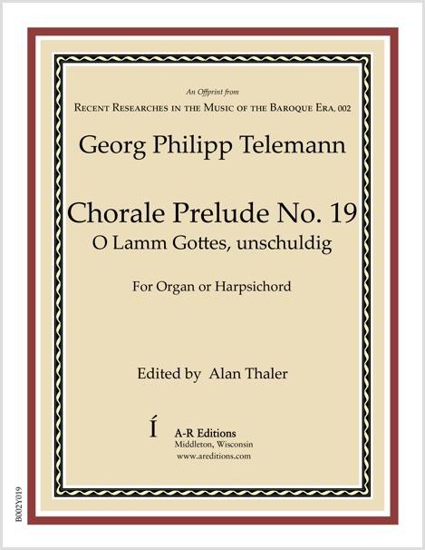 Telemann: Chorale Prelude No. 19