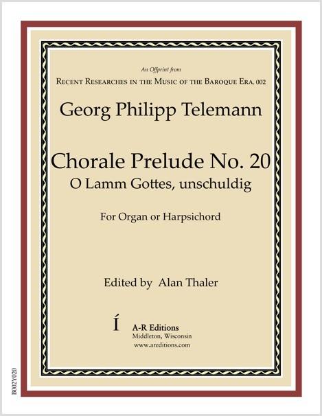 Telemann: Chorale Prelude No. 20