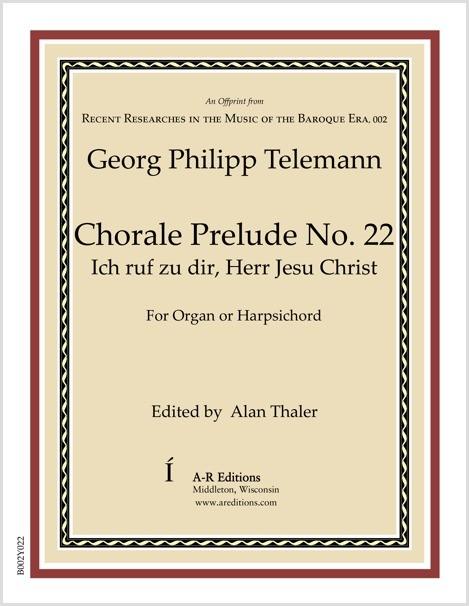 Telemann: Chorale Prelude No. 22