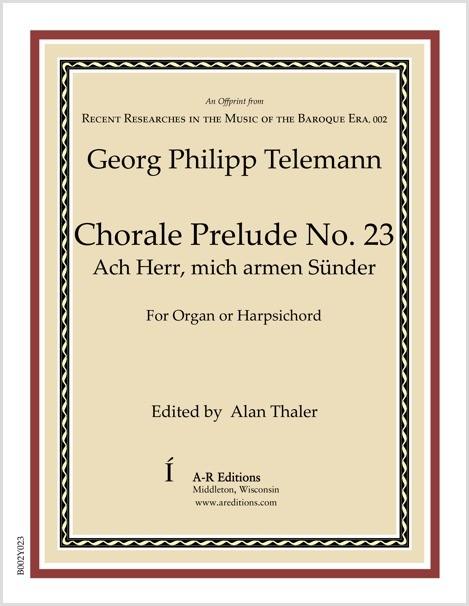 Telemann: Chorale Prelude No. 23