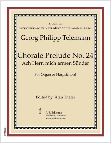 Telemann: Chorale Prelude No. 24