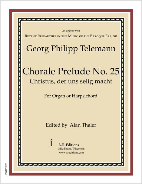 Telemann: Chorale Prelude No. 25