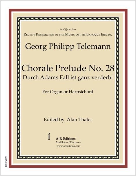 Telemann: Chorale Prelude No. 28