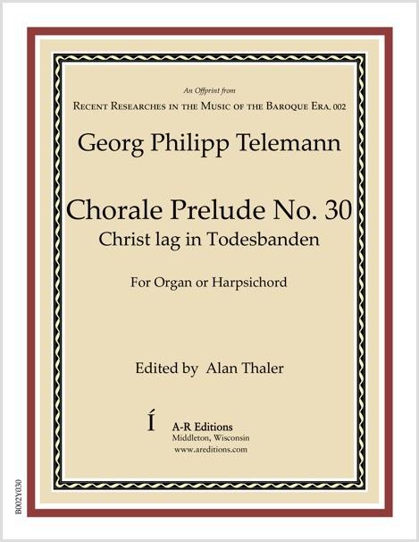 Telemann: Chorale Prelude No. 30