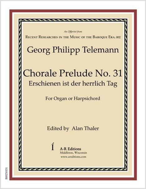 Telemann: Chorale Prelude No. 31