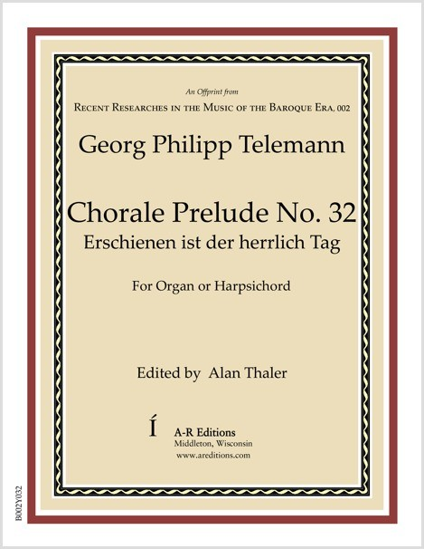 Telemann: Chorale Prelude No. 32