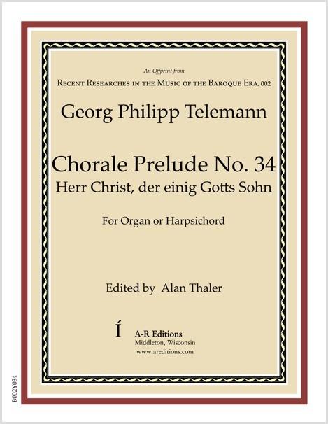 Telemann: Chorale Prelude No. 34