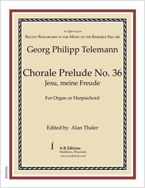 Telemann: Chorale Prelude No. 36