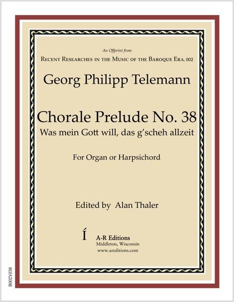 Telemann: Chorale Prelude No. 38