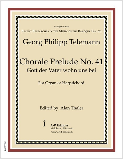 Telemann: Chorale Prelude No. 41