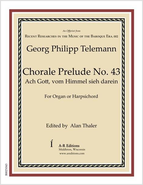 Telemann: Chorale Prelude No. 43