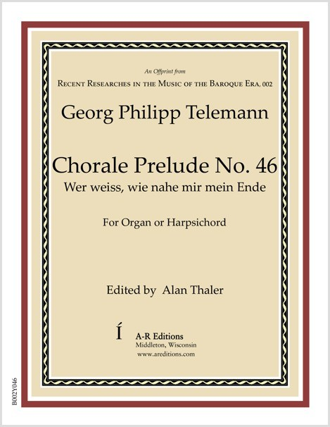 Telemann: Chorale Prelude No. 45