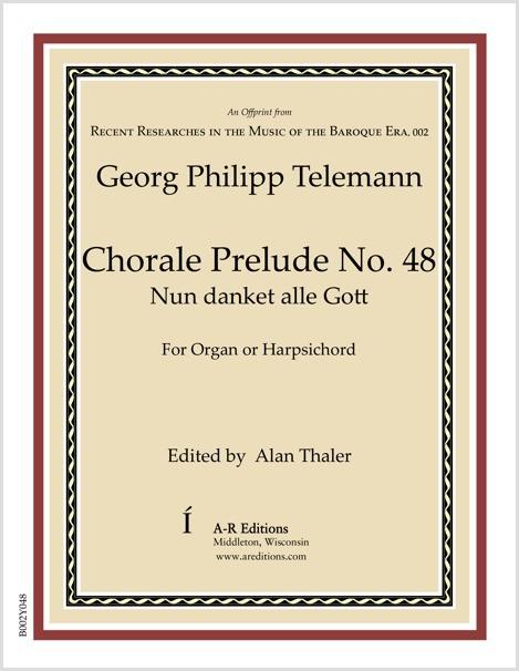 Telemann: Chorale Prelude No. 48