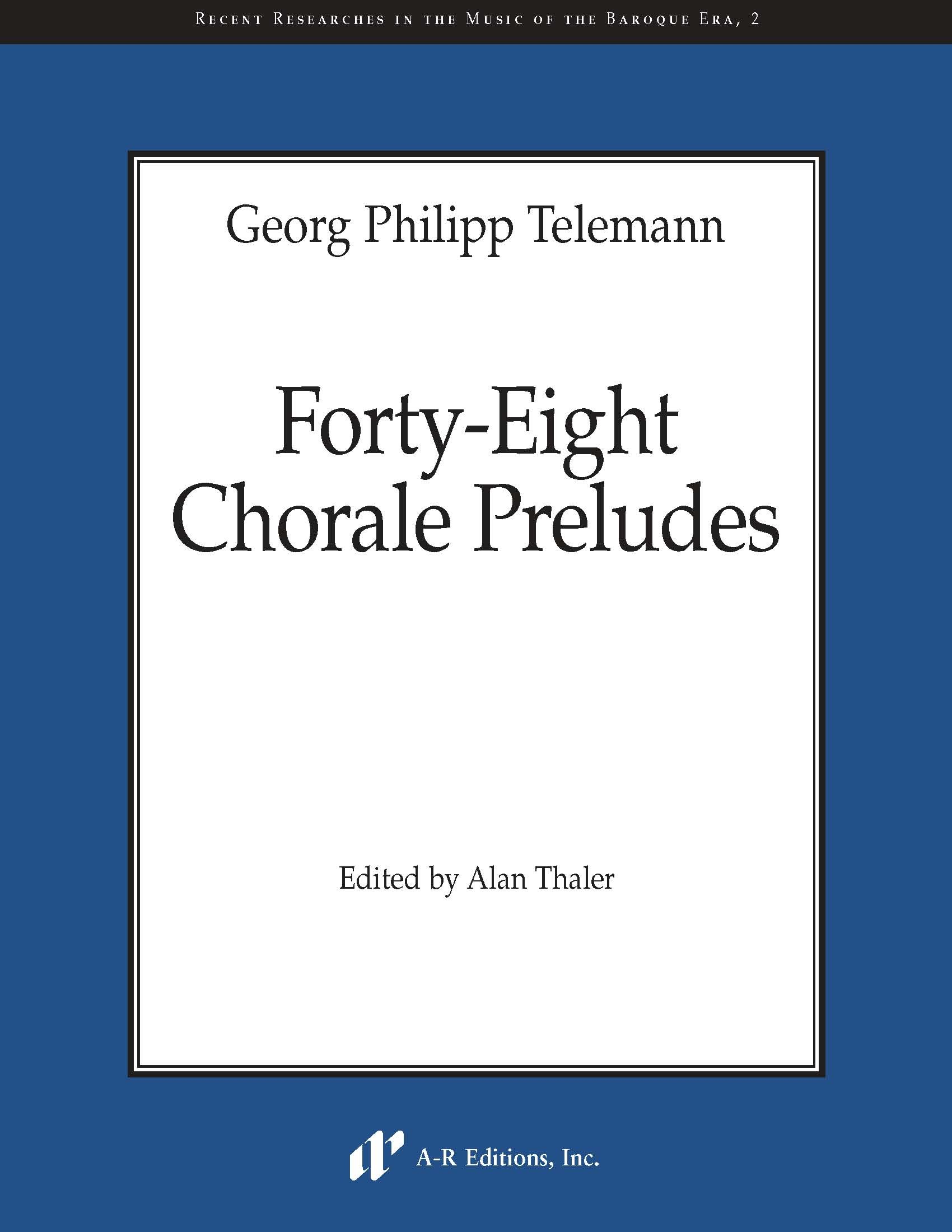 Telemann: Forty-Eight Chorale Preludes