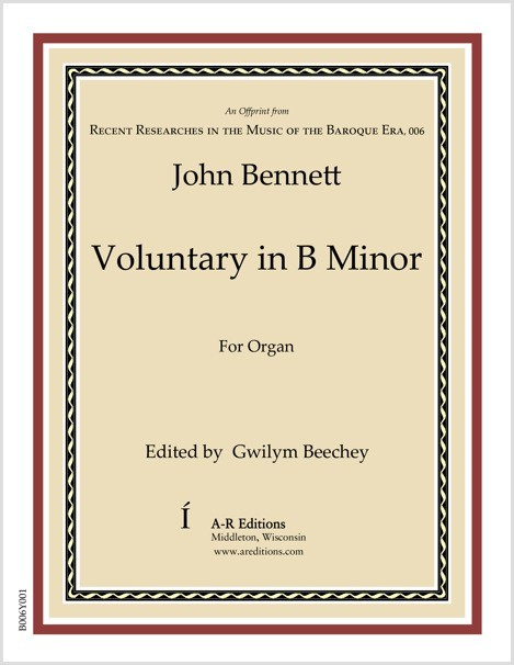 Bennett: Voluntary in B Minor