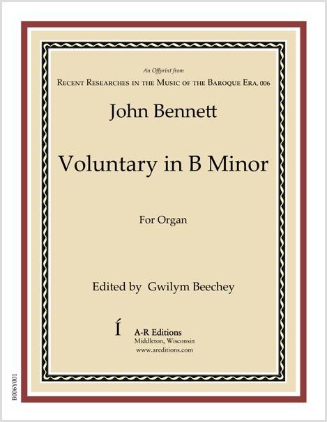 Bennett: Voluntary in B Minor