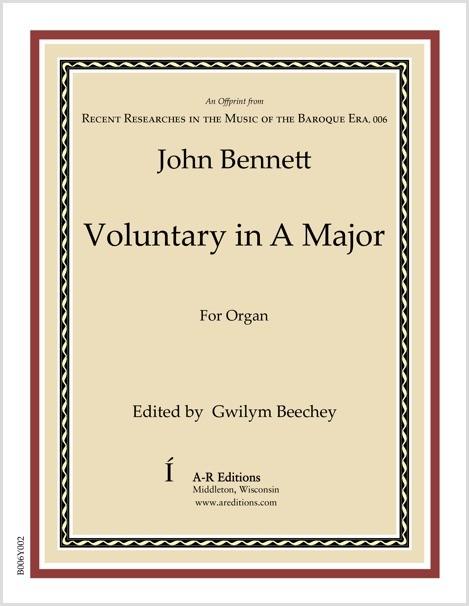 Bennett: Voluntary in A Major