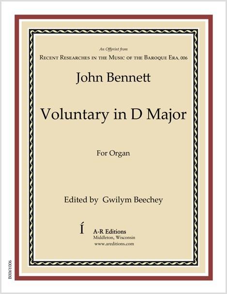 Bennett: Voluntary in D Major
