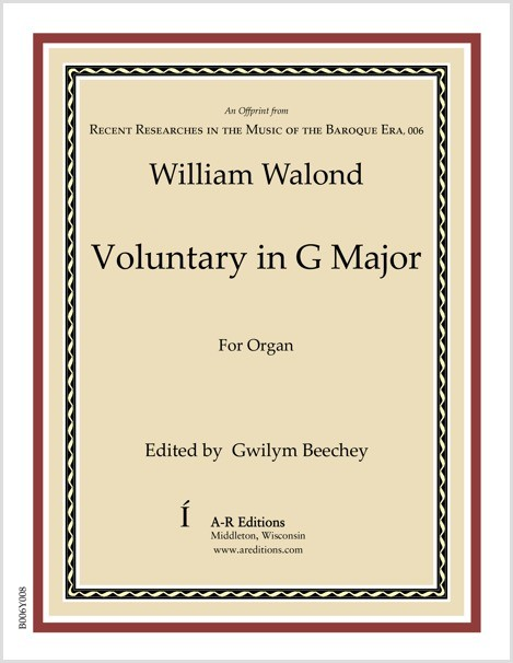 Walond: Voluntary in G Major