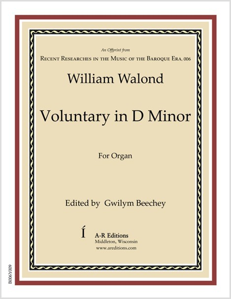 Walond: Voluntary in D Minor