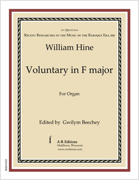 Hine: Voluntary in F major