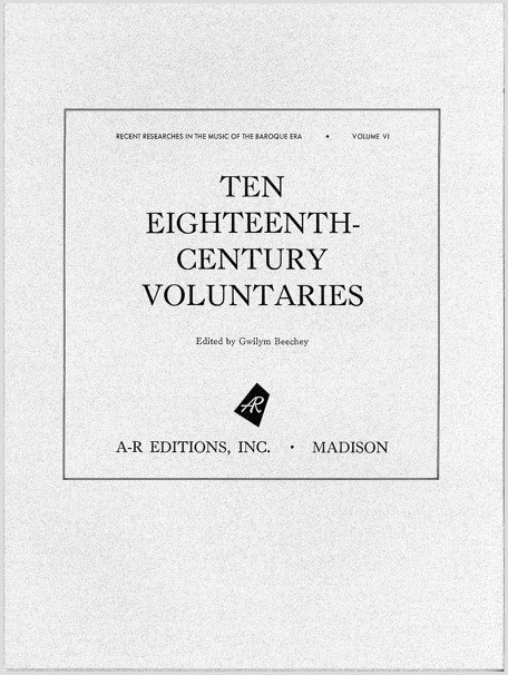 Ten Eighteenth-Century Voluntaries