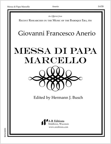 Anerio: Messa di Papa Marcello
