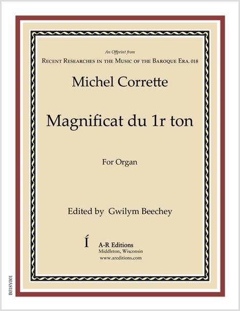 Corrette: Magnificat du 1r ton