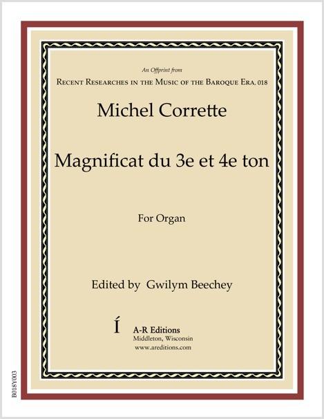 Corrette: Magnificat du 3e et 4e ton