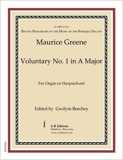 Greene: Voluntary No. 1 in A Major
