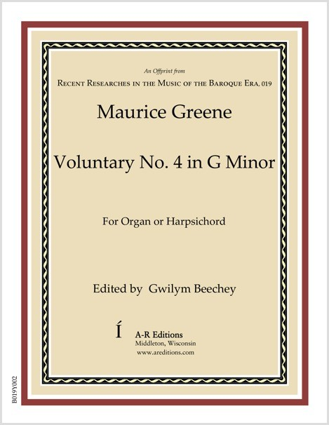 Greene: Voluntary No. 4 in G Minor