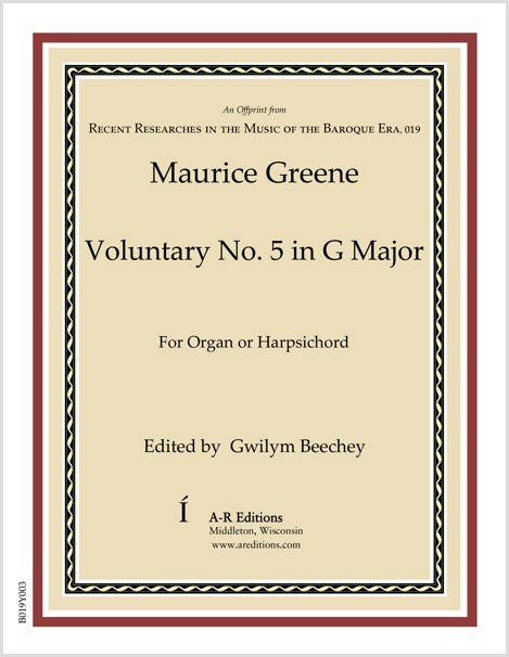 Greene: Voluntary No. 5 in G Major