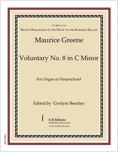 Greene: Voluntary No. 8 in C Minor