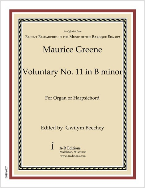 Greene: Voluntary No. 11 in B minor