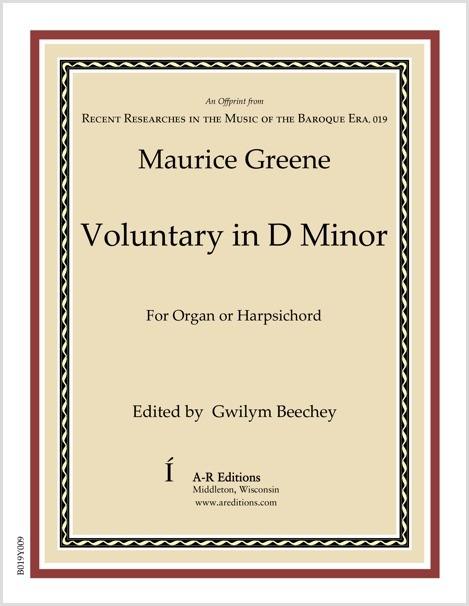 Greene: Voluntary in D Minor