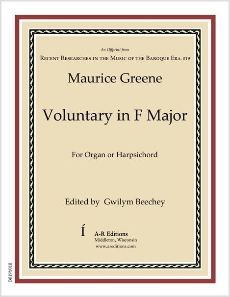 Greene: Voluntary in F Major