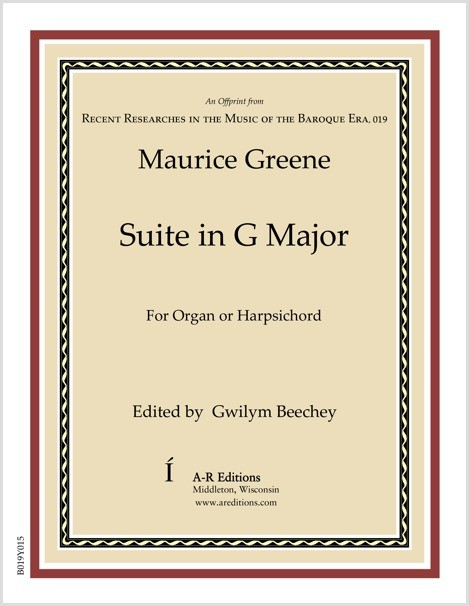 Greene: Suite in G Major
