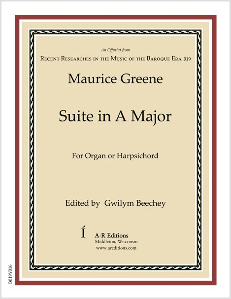 Greene: Suite in A Major
