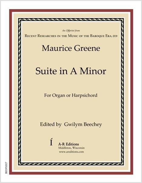 Greene: Suite in A Minor