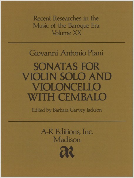Piani: Sonatas for Violin