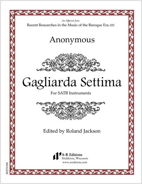 Anonymous: Gagliarda Settima