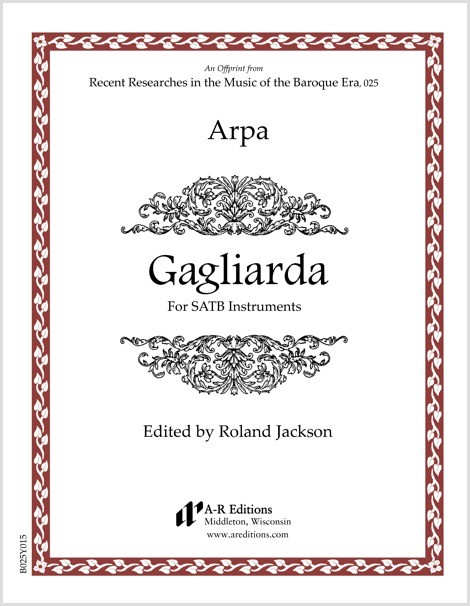 Arpa: Gagliarda